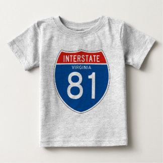 Interstate Sign 81 - Virginia Tshirts