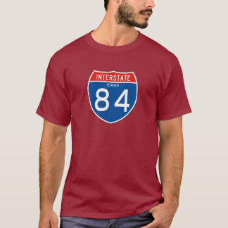 Interstate Sign 84 - Idaho T-Shirt