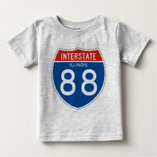 Interstate Sign 88 - Illinois Tshirts
