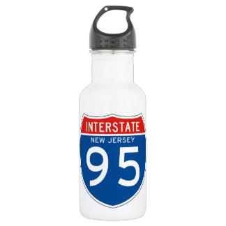 Interstate Sign 95 - New Jersey 532 Ml Water Bottle