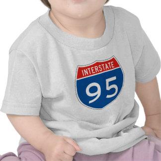 Interstate Sign 95 T-shirt