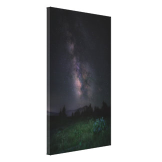 Interstellar art canvas print