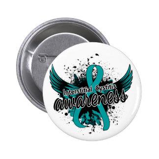 Interstitial Cystitis Awareness 16 6 Cm Round Badge