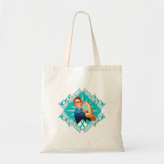 Interstitial Cystitis Fight Rosie The Riveter Canvas Bag