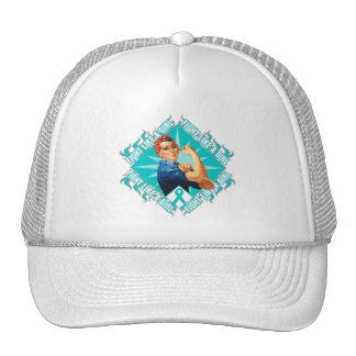 Interstitial Cystitis Fight Rosie The Riveter Mesh Hats
