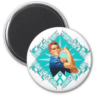 Interstitial Cystitis Fight Rosie The Riveter Magnet