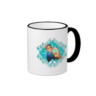 Interstitial Cystitis Fight Rosie The Riveter Mug