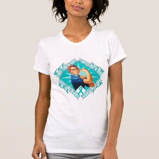 Interstitial Cystitis Fight Rosie The Riveter T-shirts