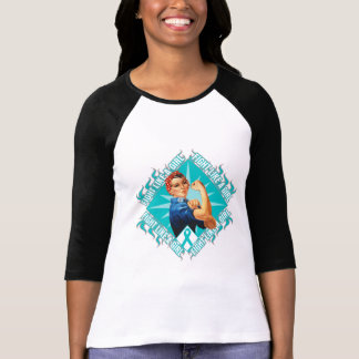 Interstitial Cystitis Fight Rosie The Riveter T Shirt