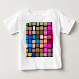 Intertwined abstract background baby T-Shirt