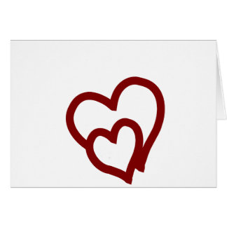 Intertwined Hearts Greeting Card