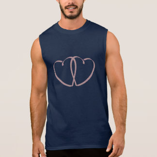 Intertwined Hearts Sleeveless Shirt