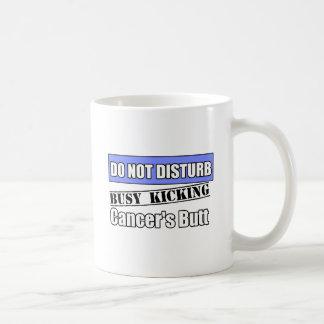 Intestinal Cancer Do Not Disturb Kicking Butt Classic White Coffee Mug