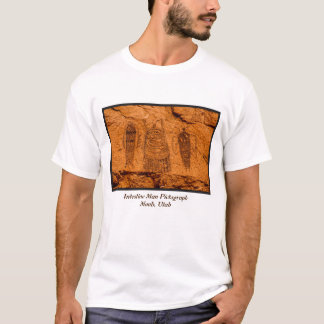 Intestine Man Pictograph (Barrier Canyon Style) T-Shirt