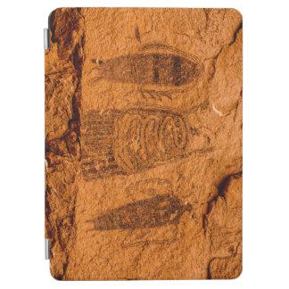 Intestine Man Pictograph - Moab - Utah iPad Air Cover
