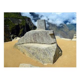 Inti Watana Stone Calendar at Machu Picchu, Peru Postcard