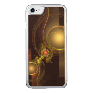 Intimate Connection Abstract Art Carved iPhone 8/7 Case