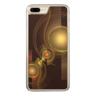 Intimate Connection Abstract Art Carved iPhone 8 Plus/7 Plus Case