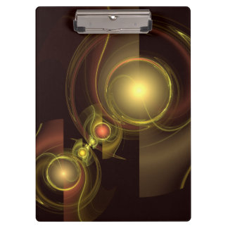 Intimate Connection Abstract Art Clipboards