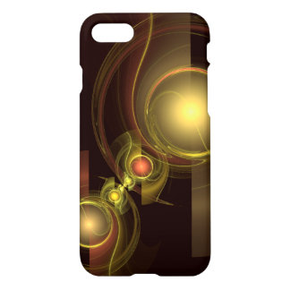 Intimate Connection Abstract Art Glossy iPhone 8/7 Case