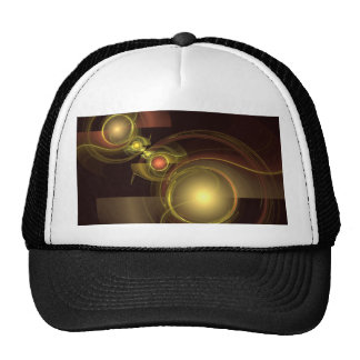 Intimate Connection Abstract Art Hat