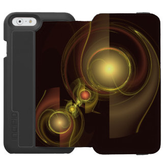 Intimate Connection Abstract Art Incipio Watson™ iPhone 6 Wallet Case