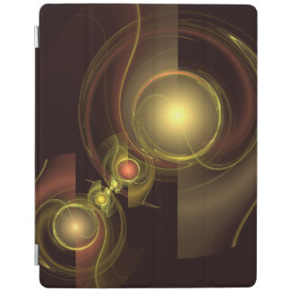 Intimate Connection Abstract Art iPad Cover
