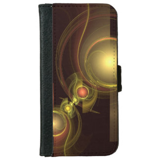 Intimate Connection Abstract Art iPhone 6 Wallet Case