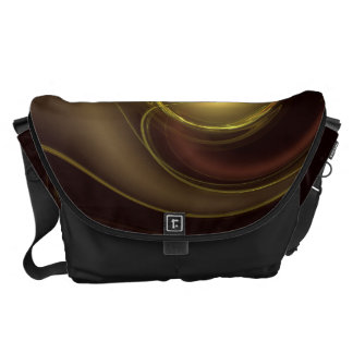 Intimate Connection Abstract Art Large Bag Messenger Bags