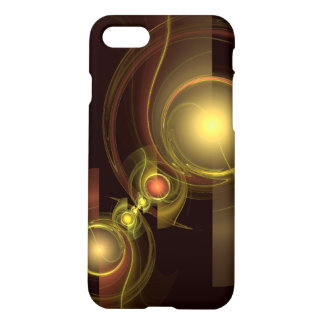 Intimate Connection Abstract Art Matte iPhone 8/7 Case