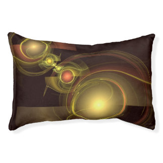 Intimate Connection Abstract Art Pet Bed