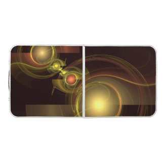 Intimate Connection Abstract Art Pong Table