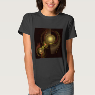 Intimate Connection Abstract Art Tee Shirts