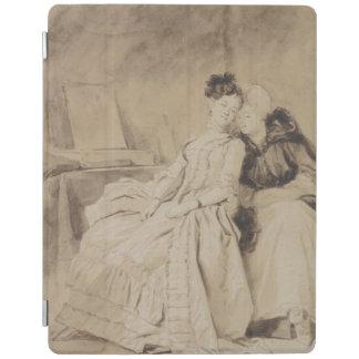 Intimate Conversation by Fragonard iPad Cover