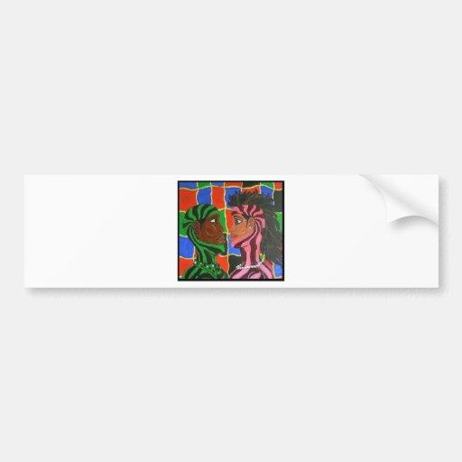 Intimate Couple Bumper Sticker