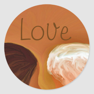Intimate Moment Love Sticker
