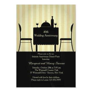 Intimate Setting Invitation