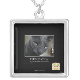 Intimidation Silver Plated Necklace