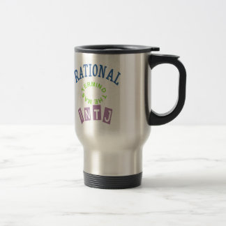 INTJ Rational Personality Stainless Steel Travel Mug