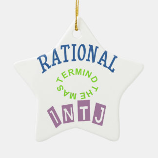 INTJ Rationals Personality Christmas Ornament