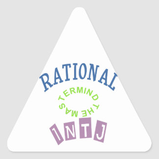 INTJ Rationals Personality Sticker