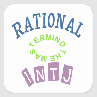 INTJ Rationals Personality Stickers