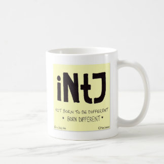 INTJ Sticky Note Drinks Mug