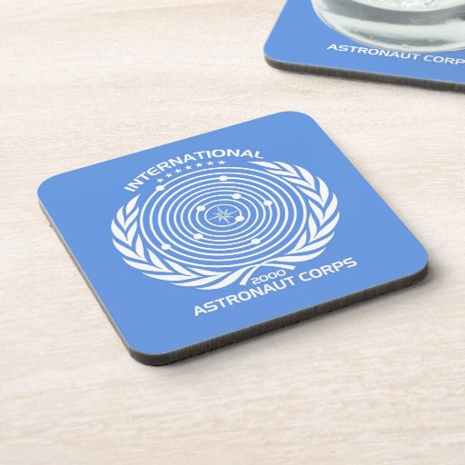 Int'l Astronaut Corps Drink Coasters