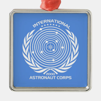Int'l Astronaut Corps Christmas Ornament