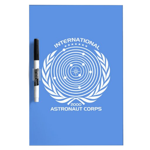 Int'l Astronaut Corps Dry Erase Whiteboards