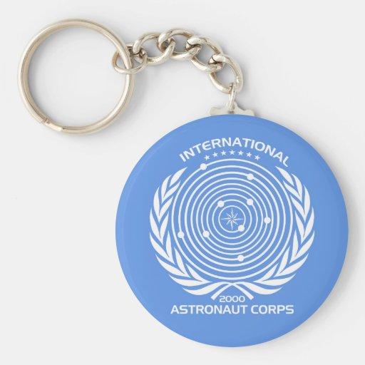 Int'l Astronaut Corps Keychain