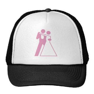 Int'l Sign for Bride & Groom Hat