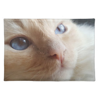into my eyes placemat