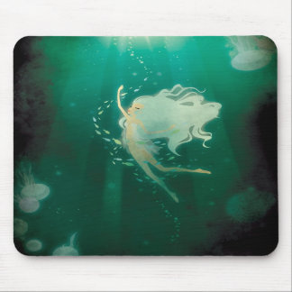 Into the blue Mousepad